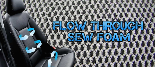 Auto Upholstery - The Hog Ring - Flow Through Sew Foam