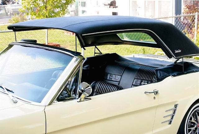 Auto Upholstery - The Hog Ring - Ford Mustang Towne Tops