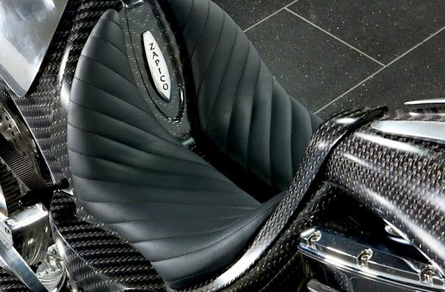 Auto Upholstery - The Hog Ring - Mansory Zapico Motorcycle Seat