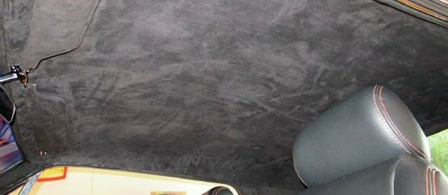 Auto Upholstery - The Hog Ring - TMI molded headliner