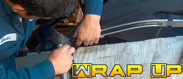 Auto Upholstery - The Hog Ring - Wrap Up - June 2014