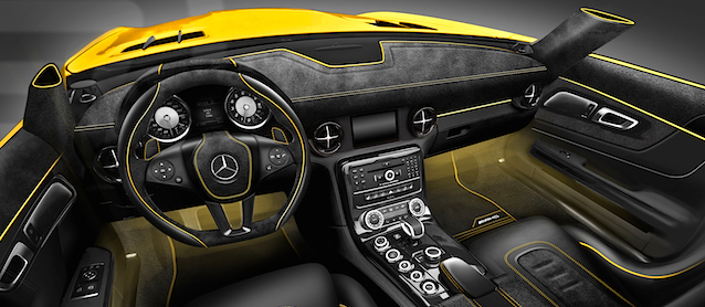 Auto Upholstery News - The Hog Ring - Carlex Design - Mercedes-Benz SLS Black Series
