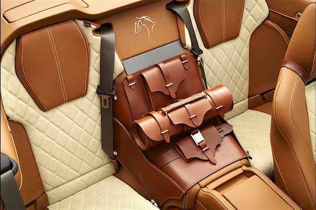 Auto Upholstery - The Hog Ring - Aston Martin DB9 Equestrian Edition