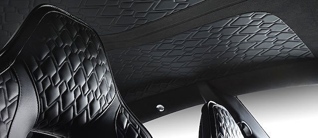 Auto Upholstery - The Hog Ring - Aston Martin Rapid S Diamond Pleat