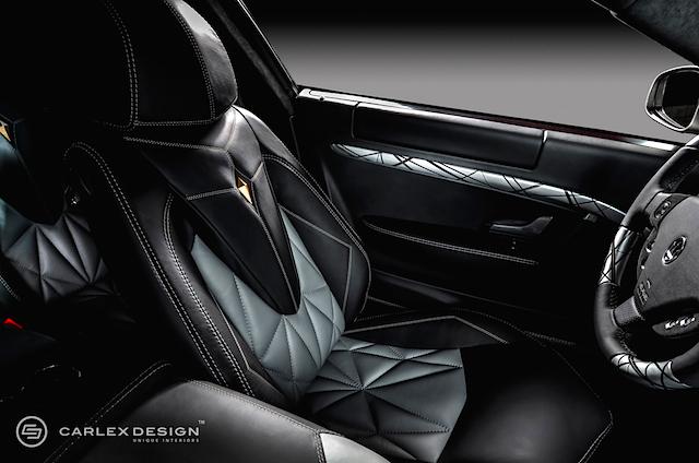 Auto Upholstery - The Hog Ring - Carlex Design Maserati Grandiamond