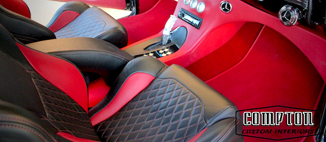 Auto Upholstery - The Hog Ring - Compton Custom Interiors