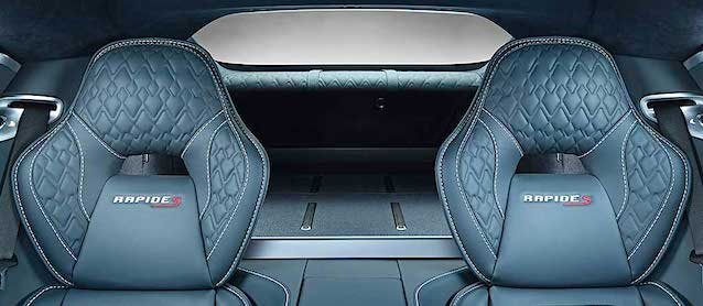 Auto Upholstery - The Hog Ring - 2015 Aston Martin Rapide S Diamond Pleat
