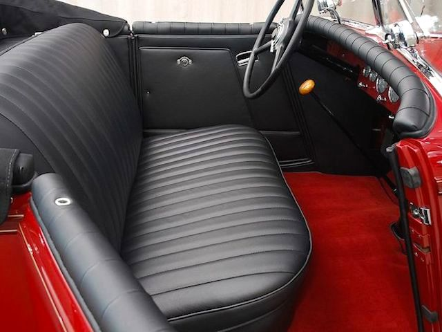 The Hog Ring - Auto Upholstery News - Dan Kirkpatrick Interiors - 1931 Chysler Imperial CG Roadster