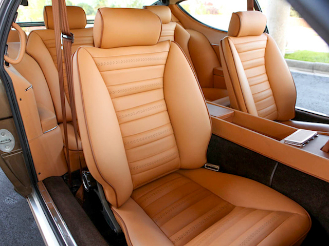 The Hog Ring - Auto Upholstery News - Dan Kirkpatrick Interiors - 1972 Lamborghini Espada