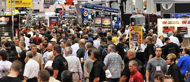 Auto Upholstery - The Hog Ring - SEMA Show