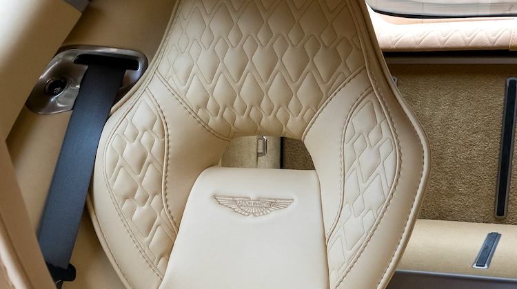 The Hog Ring - How to Sew Aston Martin Rapide Diamonds B