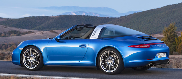 Auto Upholstery - The Hog Ring - 2014 Porsche 911 Targa 4