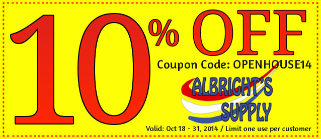 Save 10 On Everything At Albright S Supply The Hog Ring