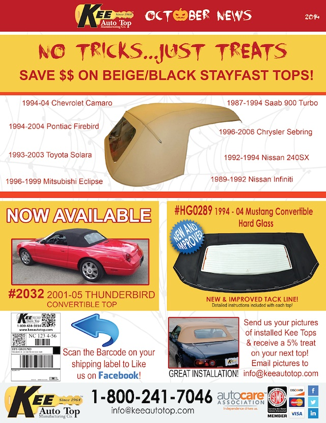 Auto Upholstery - The Hog Ring - Kee Auto Top - October 2014