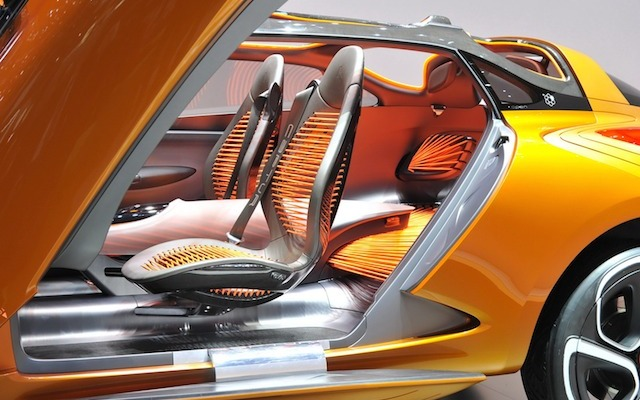 Auto Upholstery - The Hog Ring - Renault Captur Concept Interior