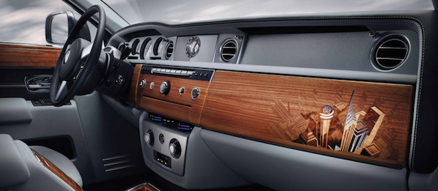 rolls royce s hand inlaid wood trim. Black Bedroom Furniture Sets. Home Design Ideas
