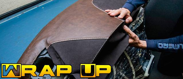 Auto Upholstery - The Hog Ring - September 2014 Wrap Up