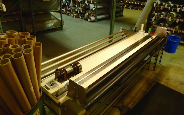 Auto Upholstery - The Hog Ring - Albright's Supply Rolling Table