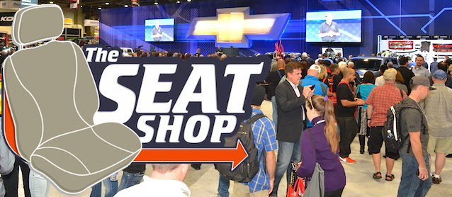 Auto Upholstery - The Hog Ring - The Seat Shop - 2014 SEMA Show