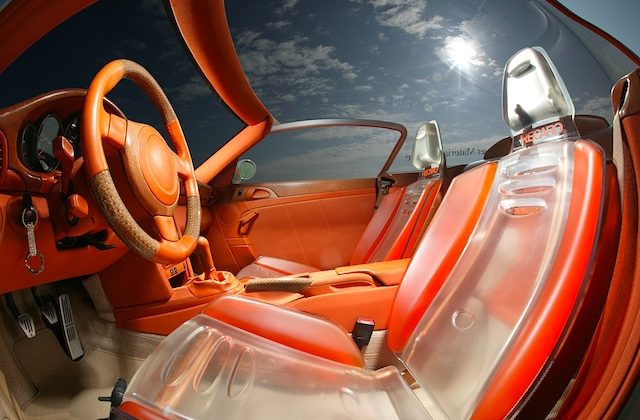 Auto Upholstery - The Hog Ring - Rinspeed Zazen - Transparent Recaro
