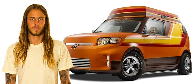 Check out Riley Hawk's Scion Xb