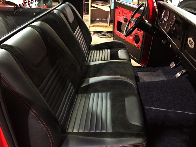 Auto Upholstery - The Hog Ring - 1973 Ford F100