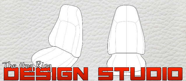Auto Upholstery - The Hog Ring - Design Studio - High-back Bucket Seat
