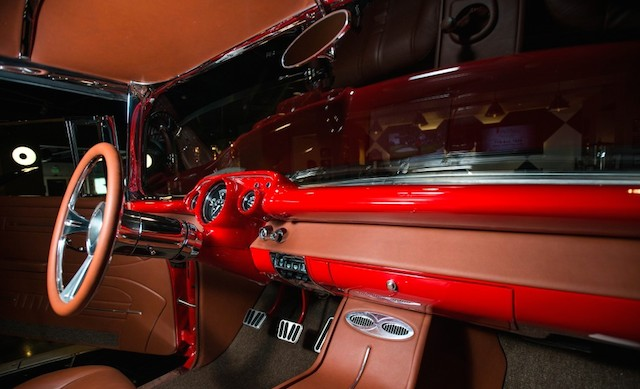 Auto Upholstery - The Hog Ring - Johnny's Auto Trim - 1957 Chevy Nomad Bel-Air