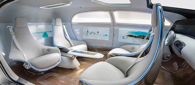Auto Upholstery - The Hog Ring - Mercedes-Benz F 015 concept