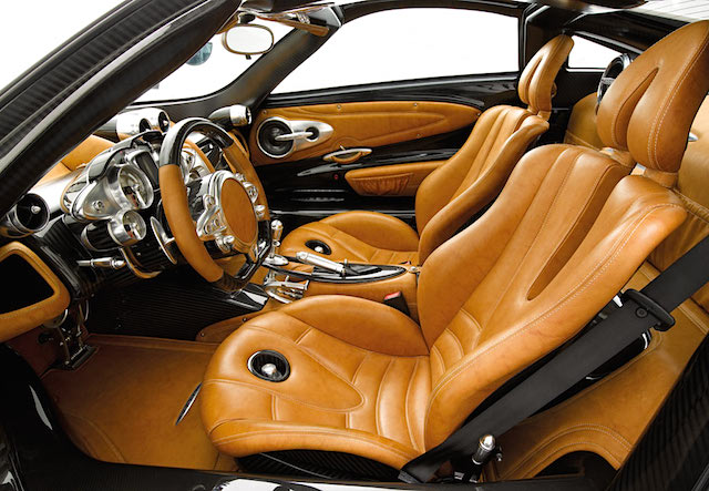 Auto Upholstery - The Hog Ring - Pagani Huayra