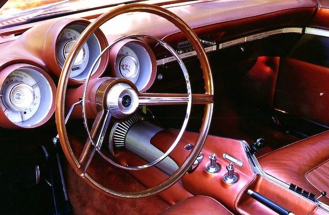 Auto Upholstery - The Hog Ring - 1964 Chrysler Turbine