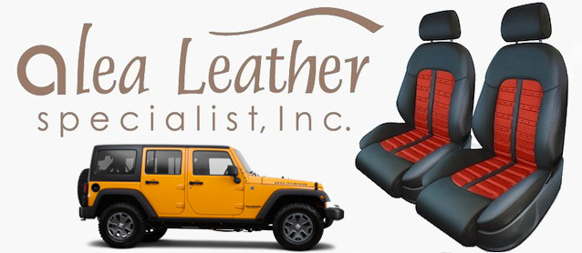 Auto Upholstery - The Hog Ring - Alea Leather - 2015 Jeep Wrangler
