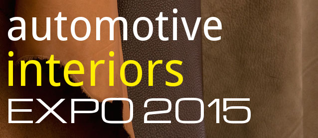 Attend Automotive Interiors Expo 2015