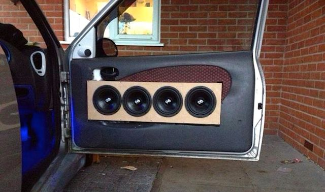 Photo: DIY Door Panel Gone Horribly Wrong