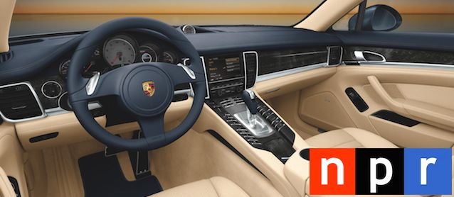 Auto Upholstery - The Hog Ring - NPR - Porsche Car Interior