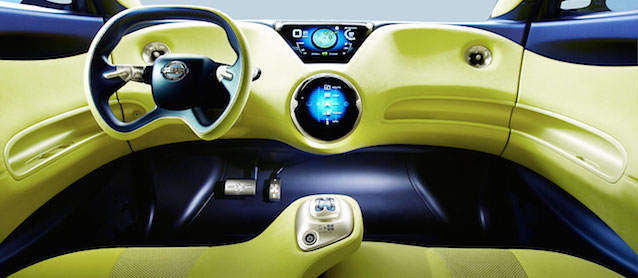 Auto Upholstery   The Hog Ring   Nissan Townpod Concept