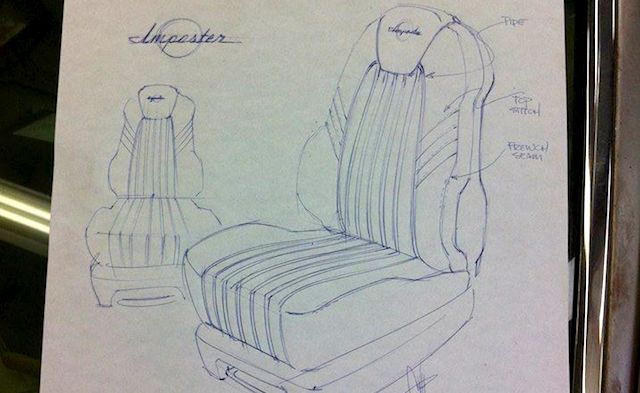 Auto Upholstery - The Hog Ring - Chip Foose 1965 Impala Impostor