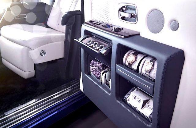 Auto Upholstery - The Hog Ring - Rolls-Royce Phantom Limelight Door Panel