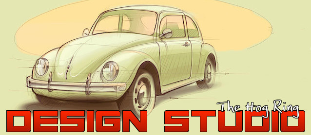 Auto Upholstery - The Hog Ring - Volkswagen Beetle - Design Studio