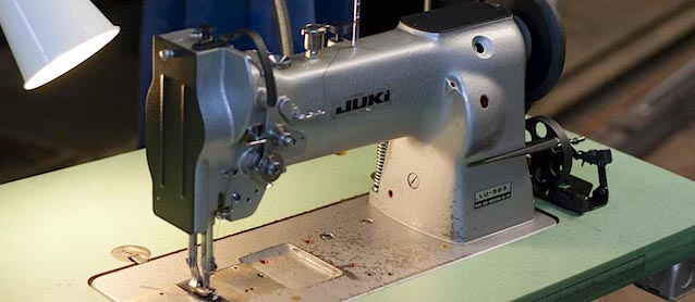Auto Upholstery - The Hog Ring - Juki Sewing Machine
