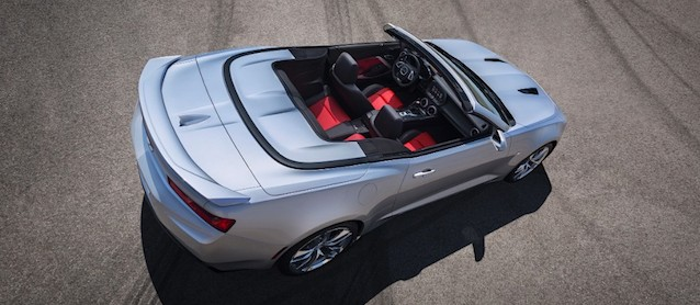 Auto Upholstery - The Hog Ring - 2016 Chevrolet Camaro Convertible