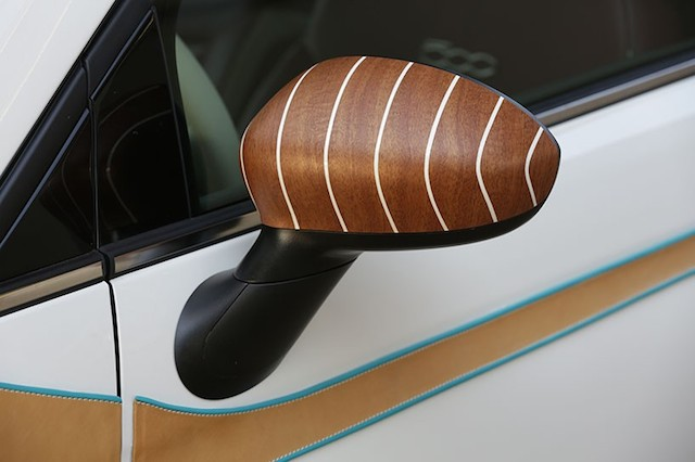 Auto Upholstery - The Hog Ring - Bespoke Fiat 500