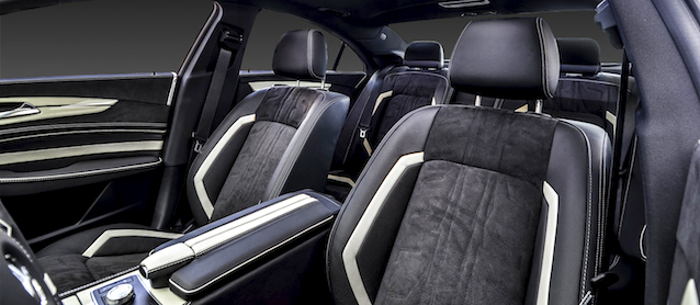 Auto Upholstery - The Hog Ring - Carlex Design Mercedes-Benz CLS