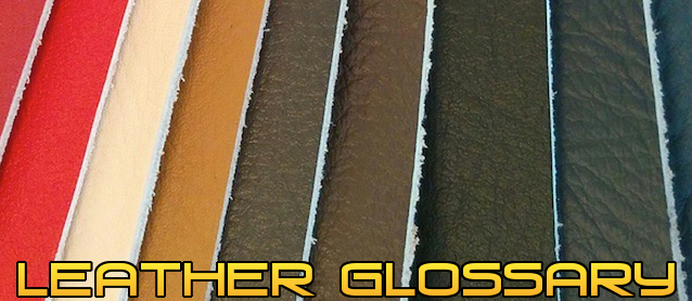 Auto Upholstery - The Hog Ring - Hydes Leather - Leather Glossary