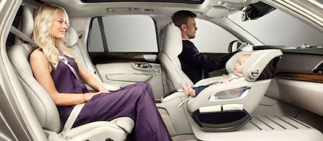 Volvo Reinvents the Child Safety Seat