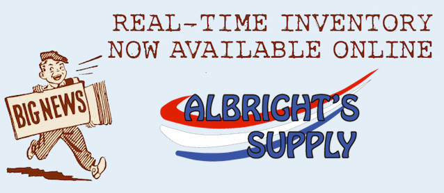 Auto Upholstery - The Hog Ring - Albrights Supply Real-Time Inventory