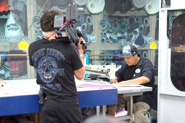 Auto Upholstery - The Hog Ring - Ish Jimenez - West Coast Customs