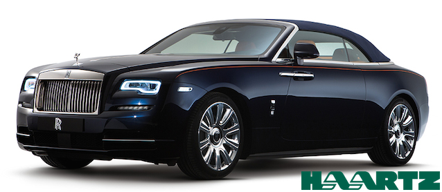 Auto Upholstery - The Hog Ring - Rolls-Royce Dawn