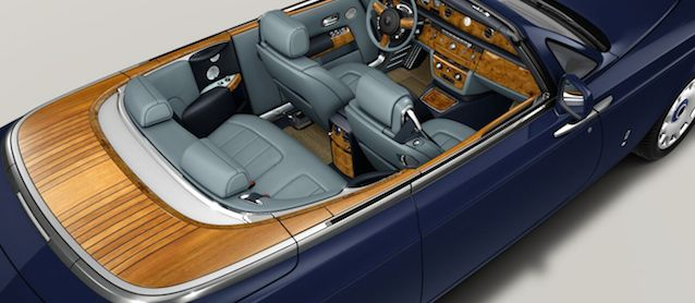 Auto Upholstery - The Hog Ring - Rolls-Royce Phantom Drophead Coupe Convertible