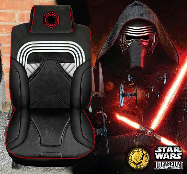 Custom Star Wars Seat Covers Are So Wizard